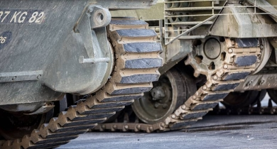 Supacat and Soucy team to offer composite rubber tracks for UK armoured fleet upgrades