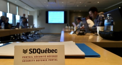 TRAINING ON THE CANADIAN DEFENCE MARKET