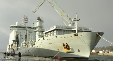 Barges being acquired by Canadian navy can be used for Asterix or JSS