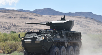 US Army chooses winner to build its new Stryker gun system