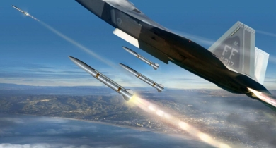 Raytheon Unveils Medium-Range Air-to-Air Missile Project