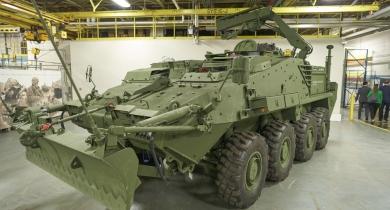 Le Canada négocie l'achat de nouveaux véhicules blindés d'appui tactique