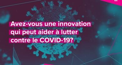 FUNDING for Innovators who can help fight COVID-19 /Financement pour les innovateurs pouvant contribuer à la lutte contre COVID-19