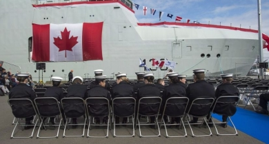 More delays for Arctic ships - DND expects first AOPS by end of March