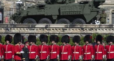 Slower-than-expected economic growth to help Canada's defence spending numbers