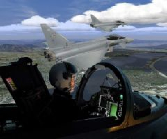 BAE Systems selects CAE Medallion MR e-Series for Qatar Typhoon simulators