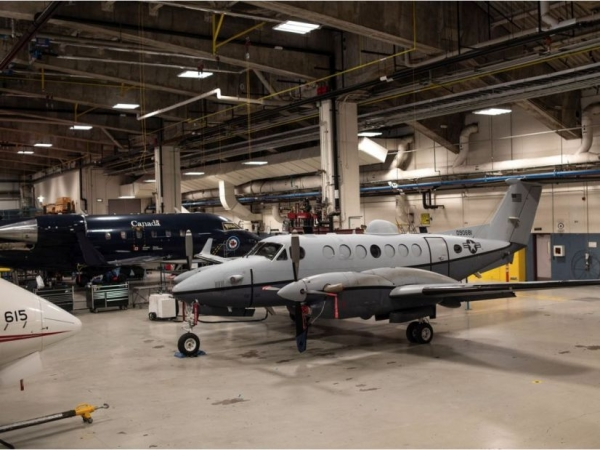 Canadians won't be allowed to work on portions of new Canadian spy planes because of U.S. security regulations