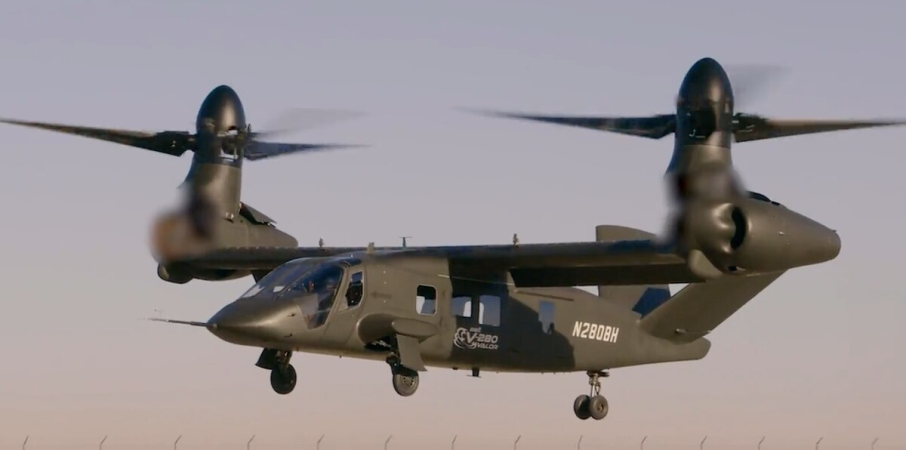 Bell V-280 flies autonomously for first time