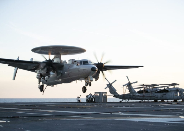 Navy Orders One E-2D Aircraft Inside Major Support Contract - Seapower