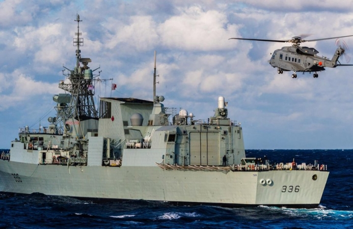 Irving Shipbuilding Hands Over HMCS Montreal to Royal Canadian Navy